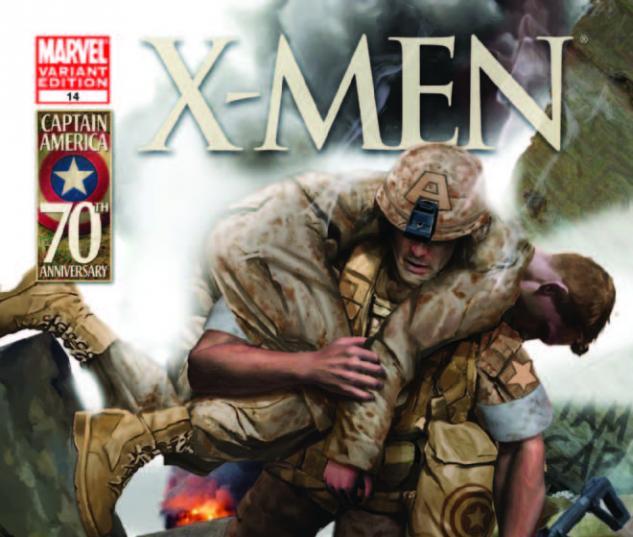 X-Men (2010) #14, I Am Captain America Variant