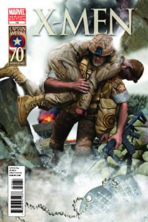 X-Men (2010) #14 (I Am Captain America Variant)