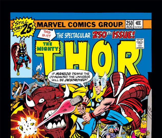 Thor (1966) #250 Cover