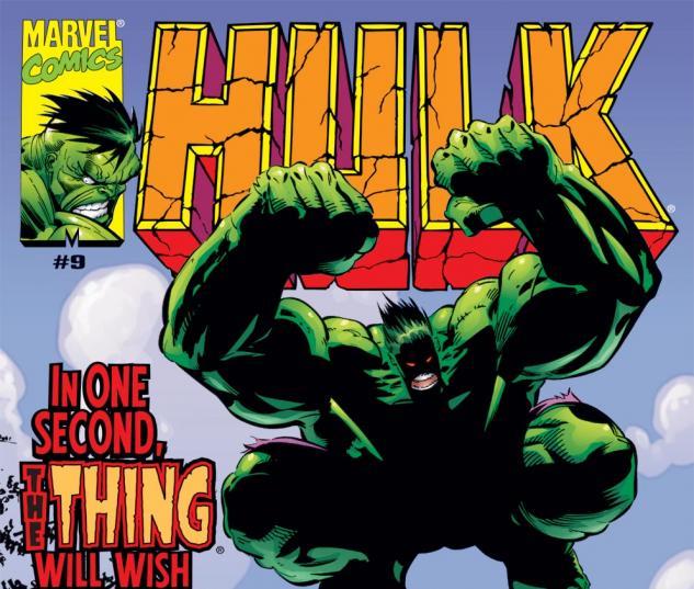 Incredible Hulk (1999) #9 Cover