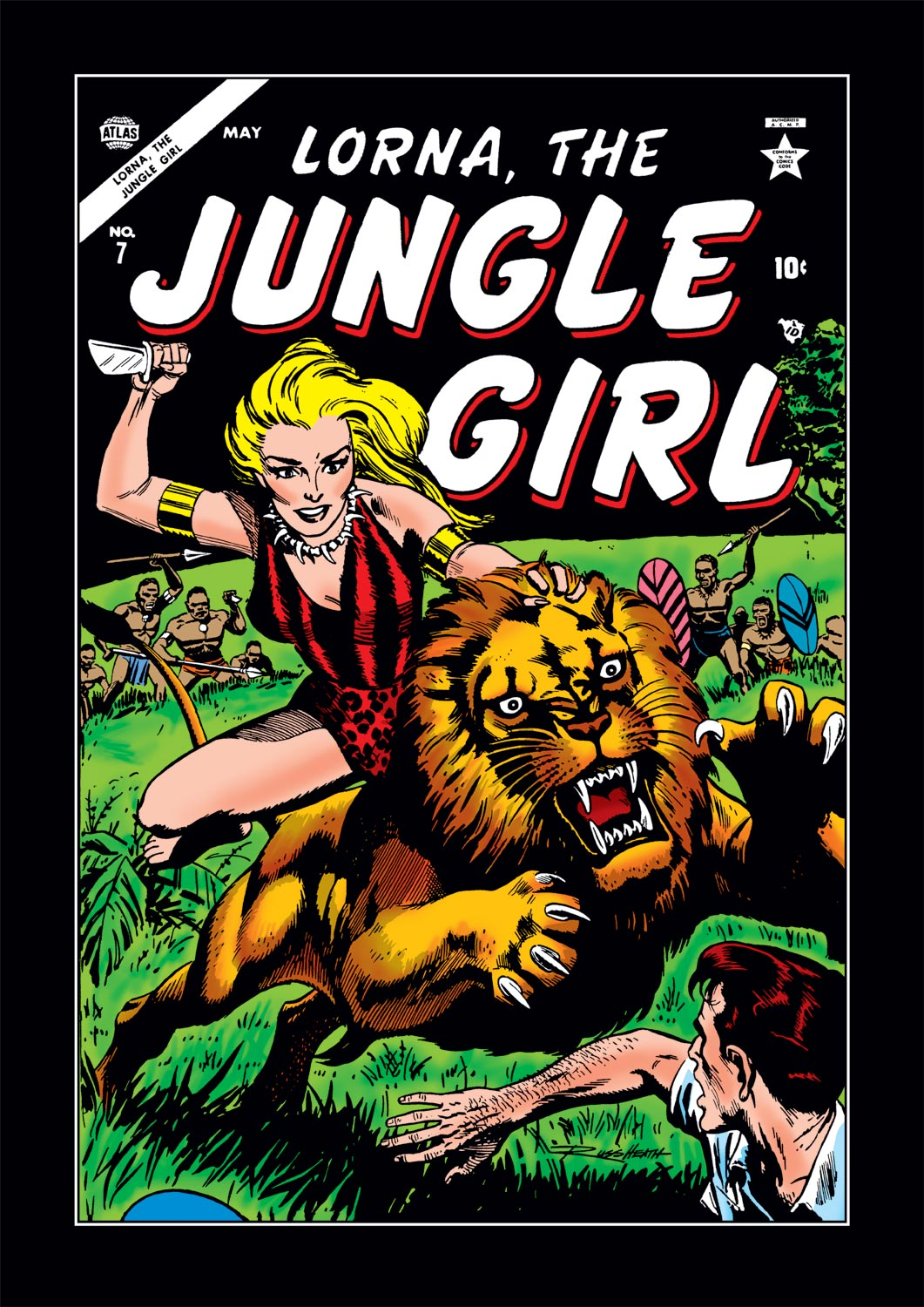 Lorna the Jungle Girl (1954) #7
