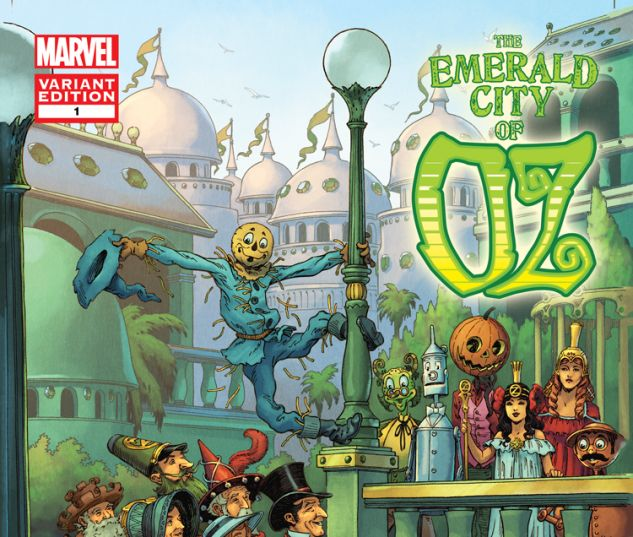 THE EMERALD CITY OF OZ 1 SHANOWER VARIANT