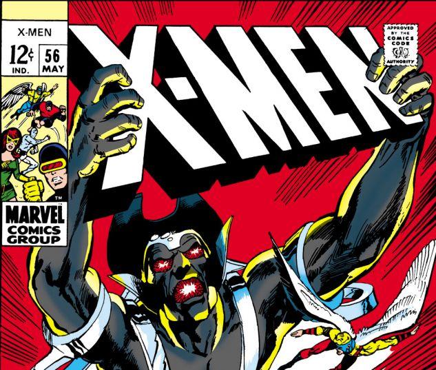 Uncanny X-Men (1963) #56 Cover