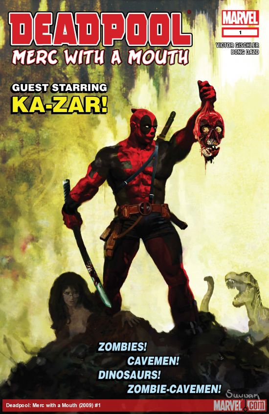 Deadpool: Merc with a Mouth (2009) #1