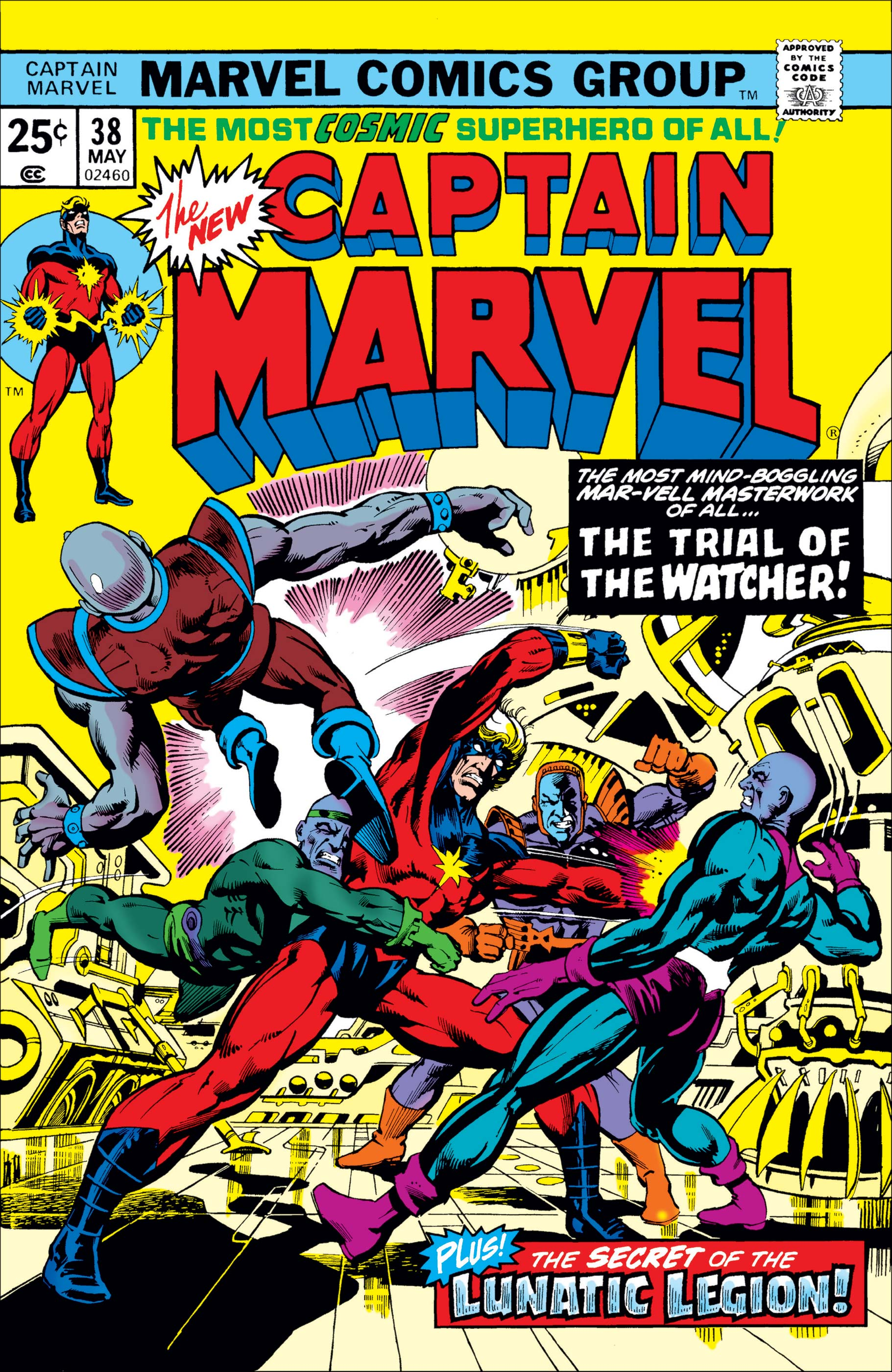 Captain Marvel (1968) #38