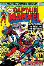 Captain Marvel (1968) #38 cover