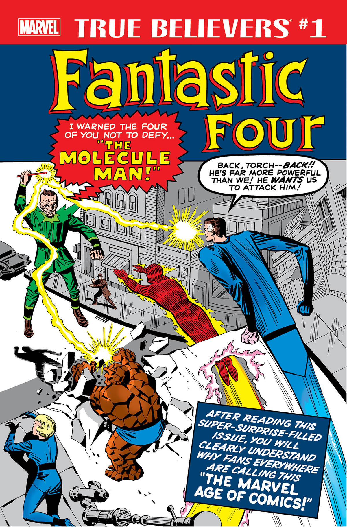 True Believers: Fantastic Four - Molecule Man (2018) #1