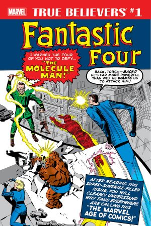 True Believers: Fantastic Four - Molecule Man #1