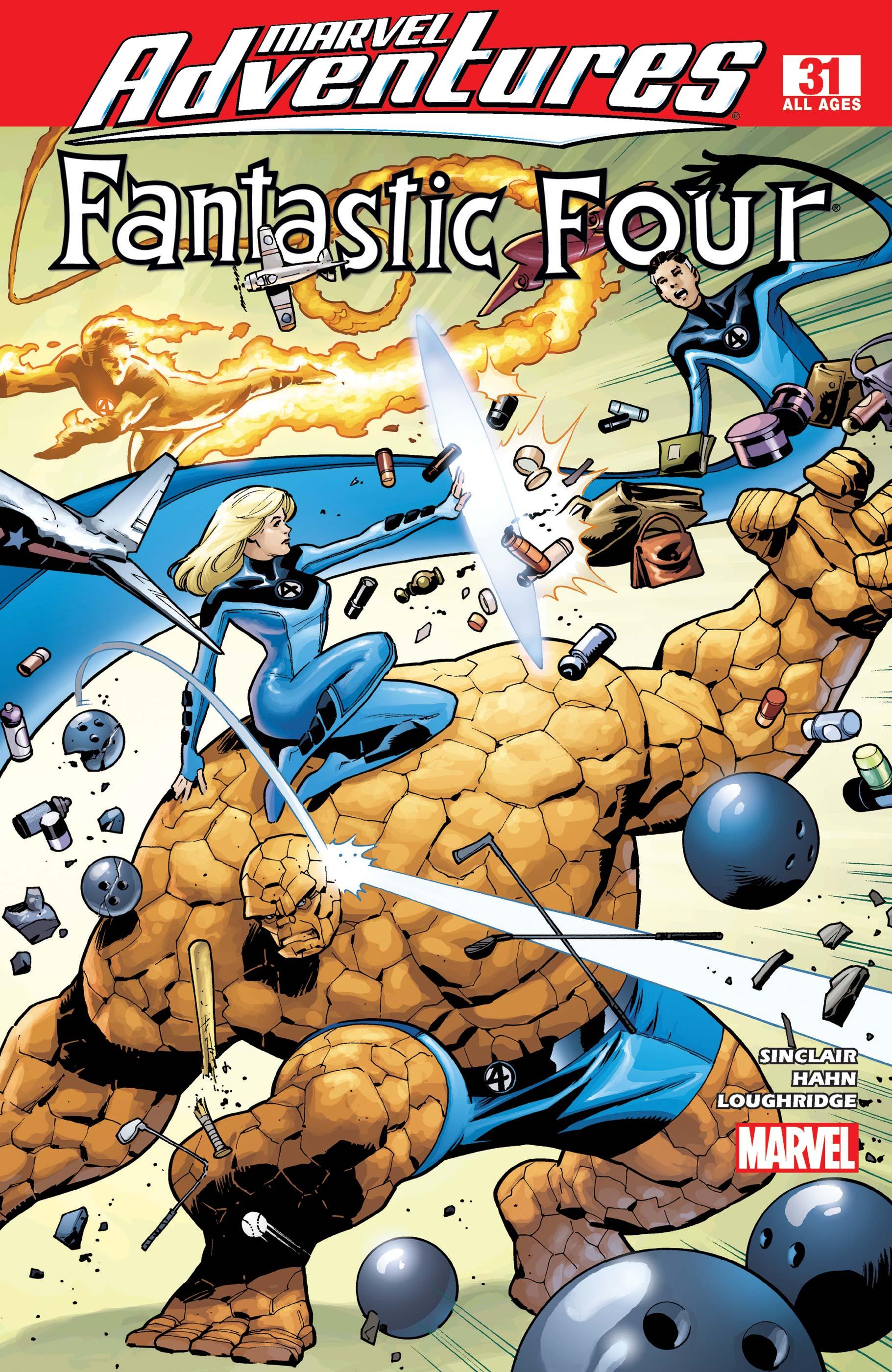 Marvel Adventures Fantastic Four (2005) #31