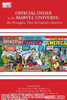 Avengers, Thor & Captain America: Official Index to the Marvel Universe #1