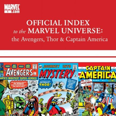 Avengers, Thor & Captain America: Official Index to the Marvel Universe (2010 - 2011)