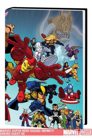 Marvel Super Hero Squad: Infinity Sword Quest (Hardcover)