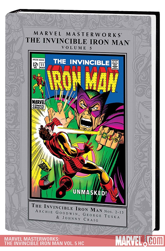 Marvel Masterworks: The Invincible Iron Man Vol. 5 (Hardcover)