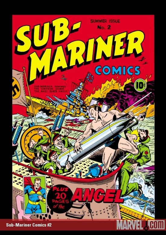 Sub-Mariner Comics (1941) #2