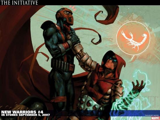 New Warriors (2005) #4 Wallpaper