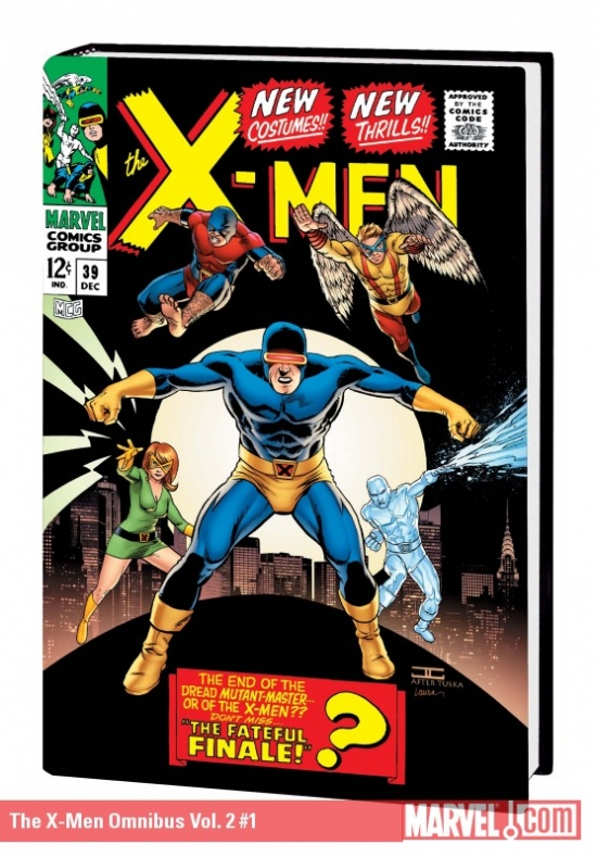 The X-Men Omnibus Vol. 2 (2010) (Classic Cover)