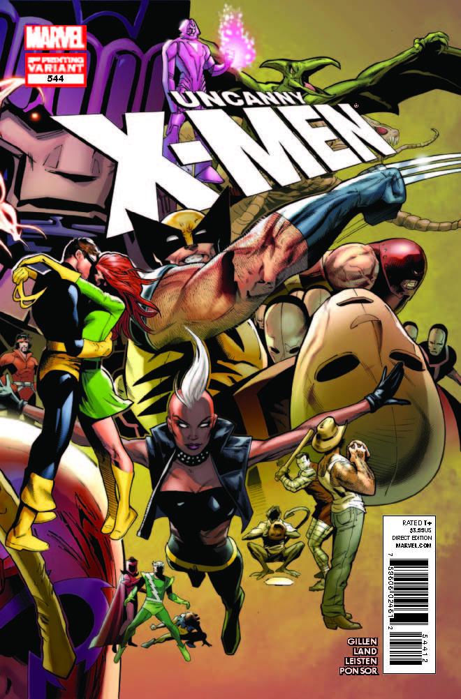 Uncanny X-Men (1963) #544 (2nd Printing Variant)