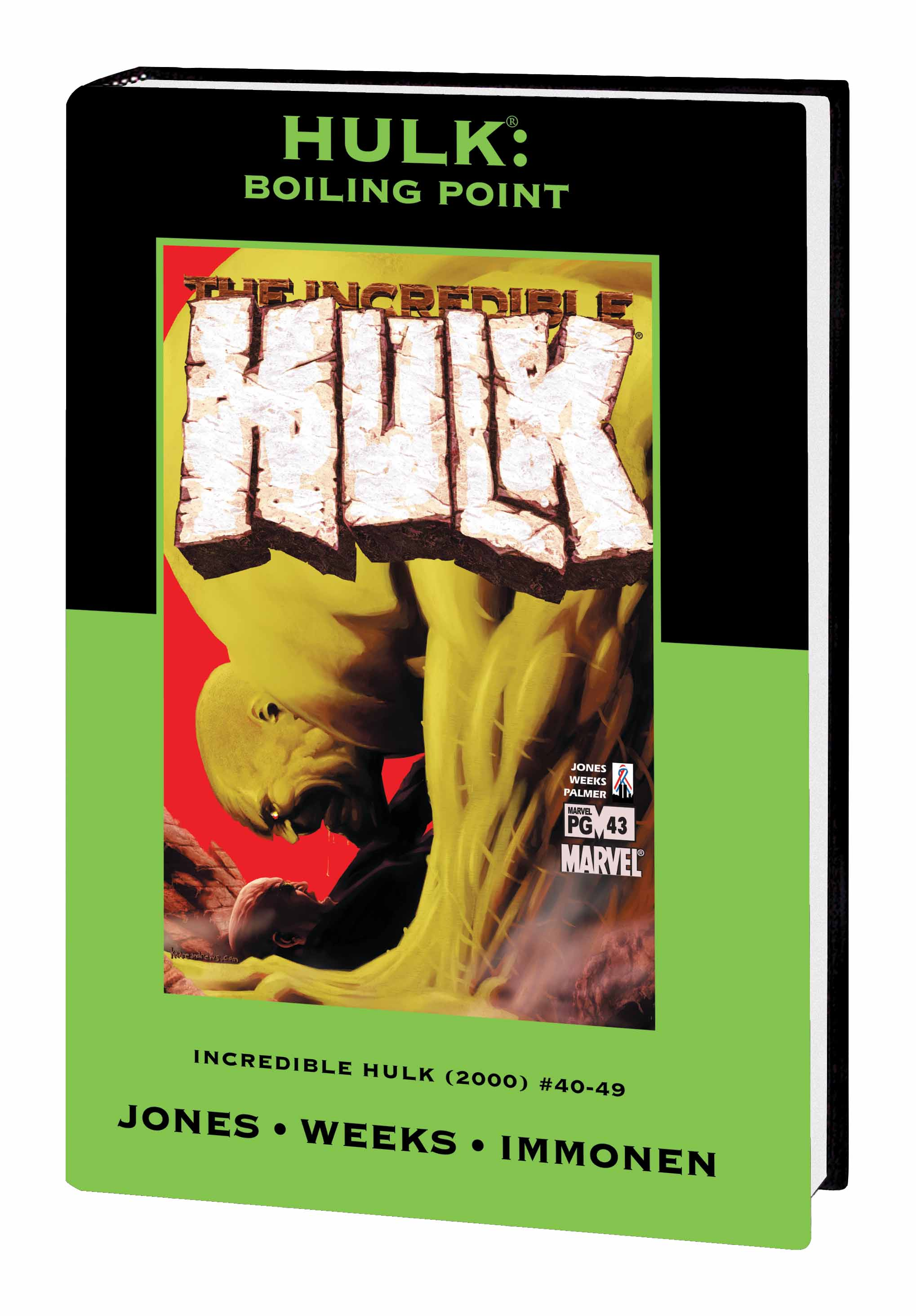 Hulk: Boiling Point (Hardcover)