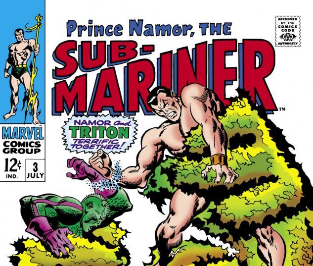 Sub-Mariner (1968) #3 Cover