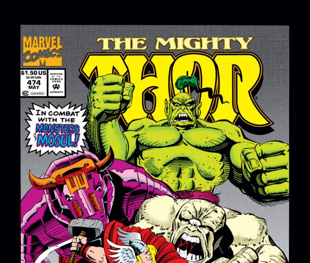 Thor (1966) #474 Cover