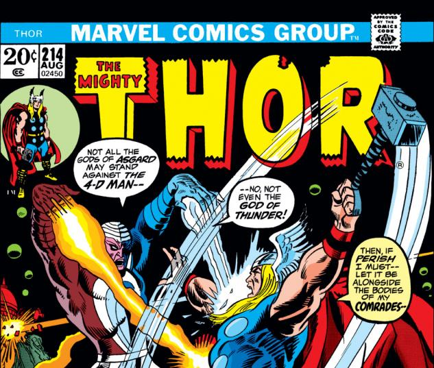 Thor (1966) #214 Cover