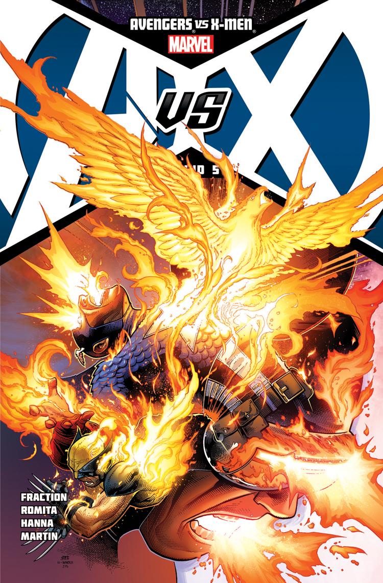 Avengers Vs. X-Men (2012) #5