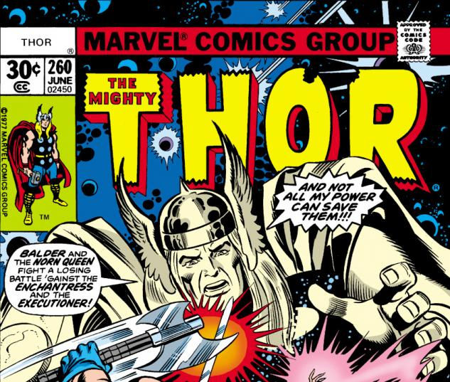 Cover for Thor (1966) #260