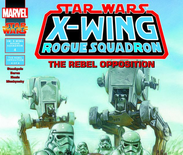 Star Wars: X-Wing Rogue Squadron (1995) #4