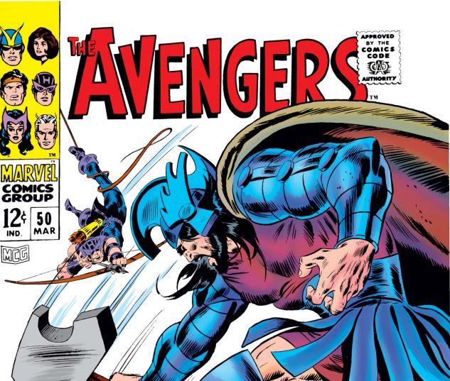 AVENGERS (1963) #50