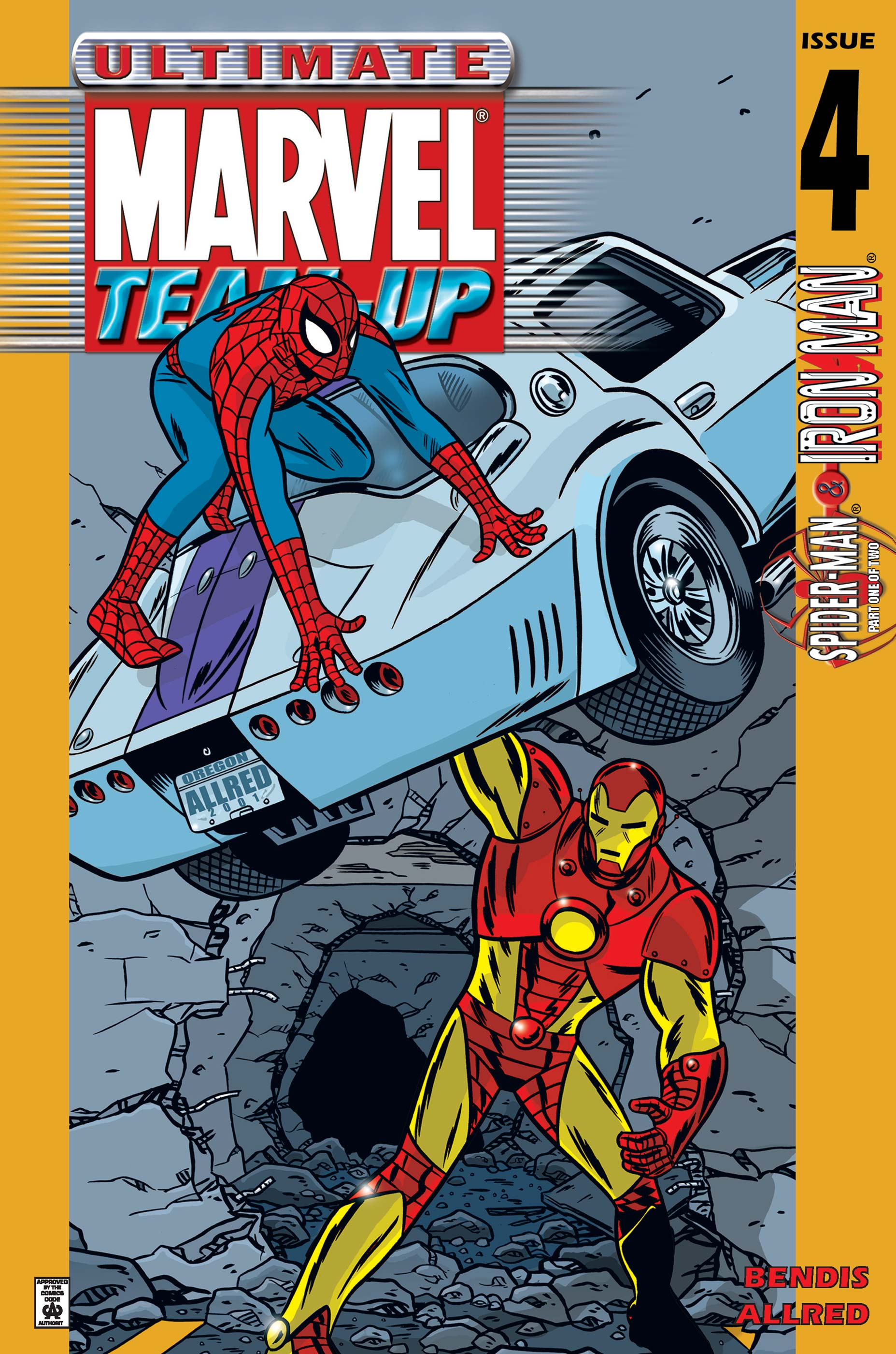 Ultimate Marvel Team-Up (2001) #4