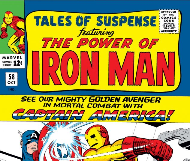 Tales of Suspense (1959) #58