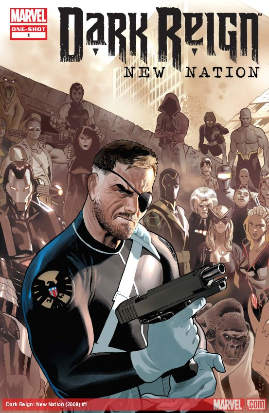 Dark Reign: New Nation (2008) #1