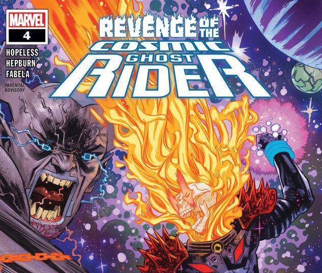 Revenge of the Cosmic Ghost Rider #4