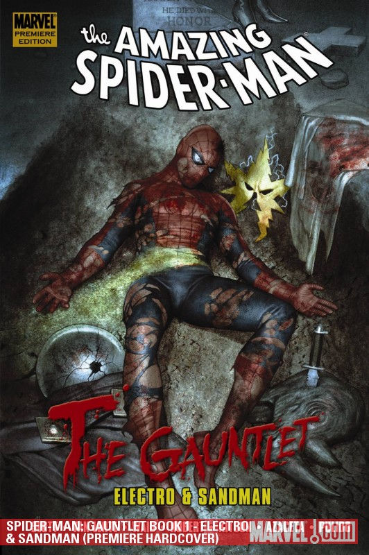 Spider-Man: Gauntlet Book 1 - Electro & Sandman (Hardcover)