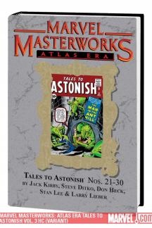 Marvel Masterworks: Atlas Era Tales to Astonish Vol. 3 (Hardcover)