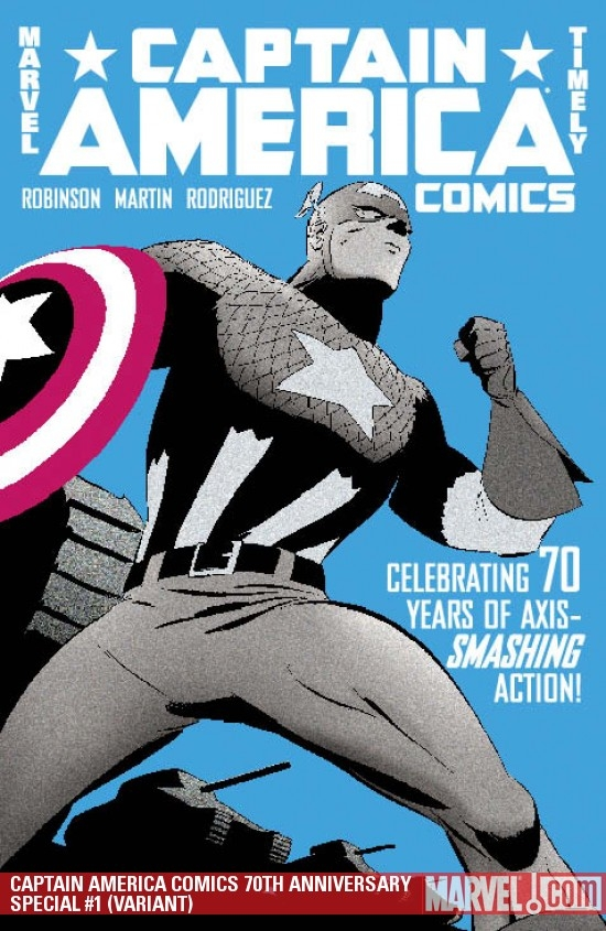 Captain America Comics 70th Anniversary Special (2009) #1