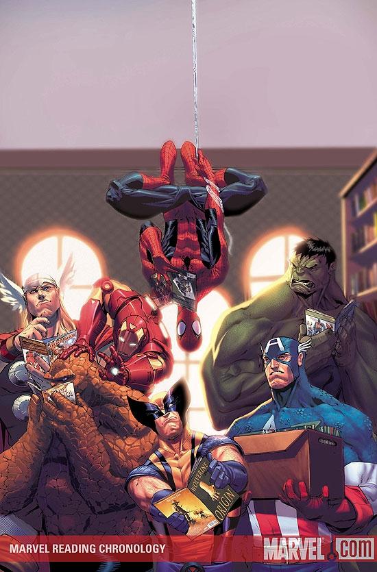 Marvel Reading Chronology (2009) #5