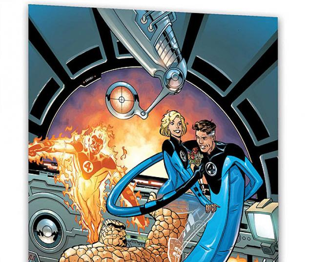 MARVEL ADVENTURES FANTASTIC FOUR:  SPACED CRUSADERS #1
