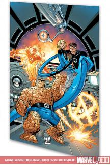 Marvel Adventures Fantastic Four:  Spaced Crusaders (Digest)