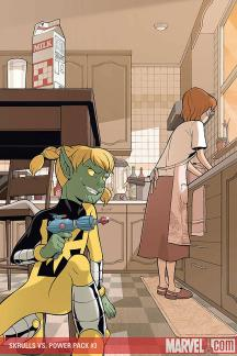 Skrulls Vs. Power Pack (2008) #3