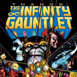 INFINITY GAUNTLET TPB COVER