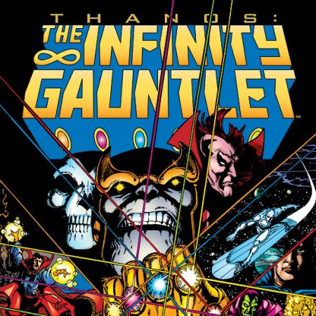 INFINITY GAUNTLET TPB COVER