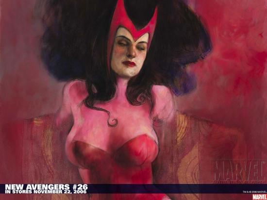 New Avengers (2004) #26 Wallpaper