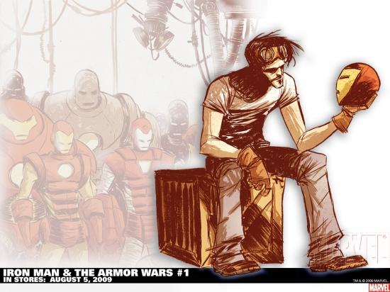 Iron Man & the Armor Wars (2009) #1 Wallpaper