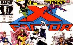 X-Factor (1986) #39 cover by Walter Simonson