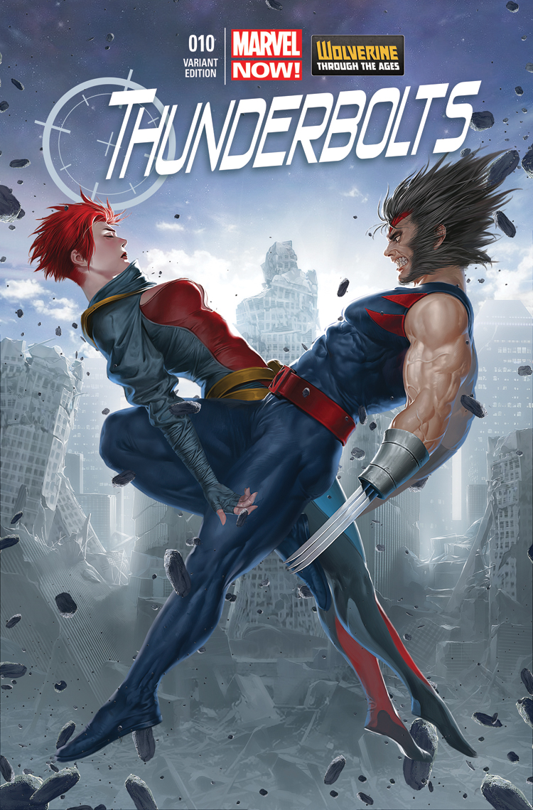 Thunderbolts (2012) #10 (Yoon Wolverine Costume Variant)