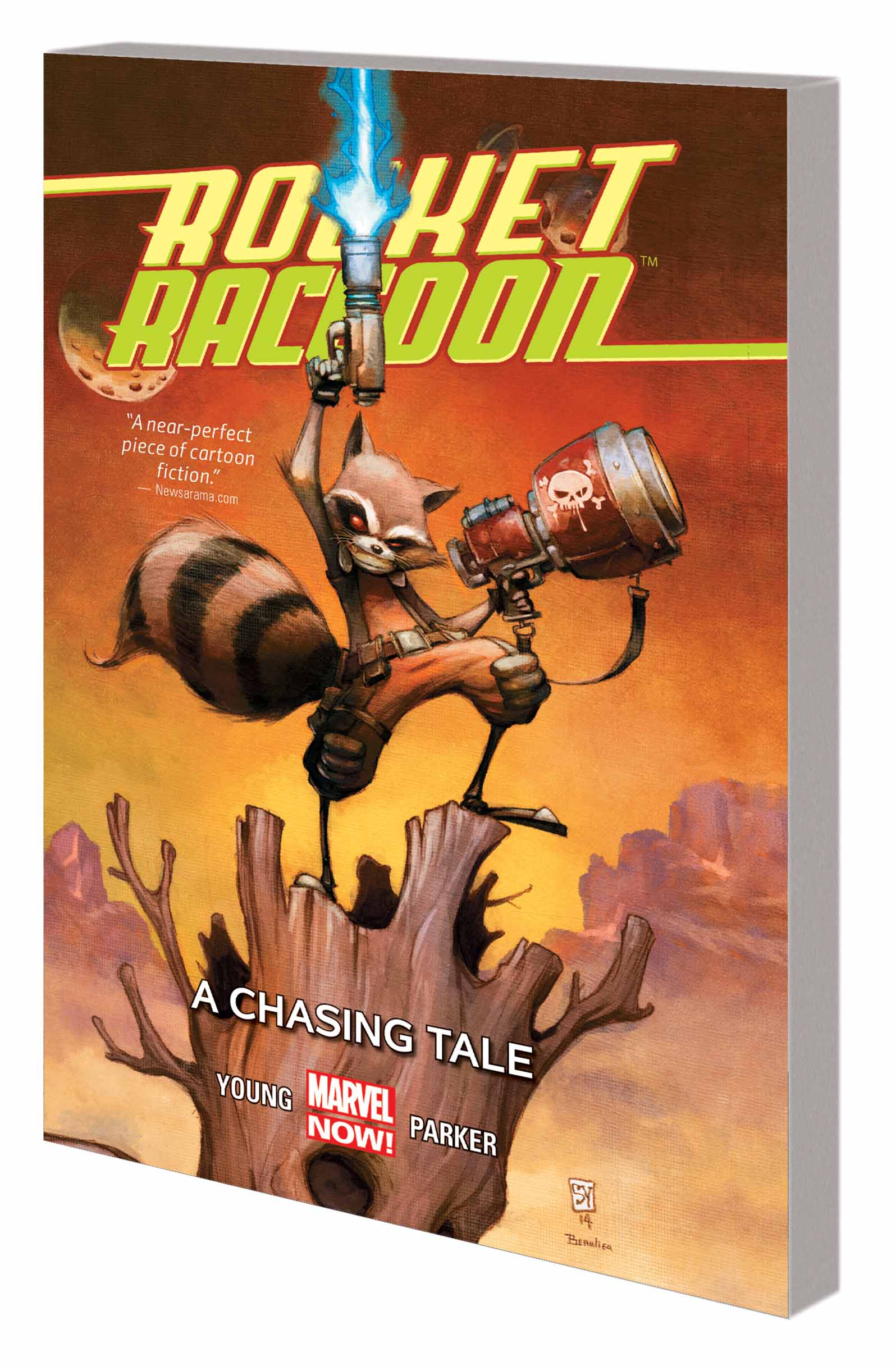 ROCKET RACCOON VOL. 1: A CHASING TALE  (Trade Paperback)