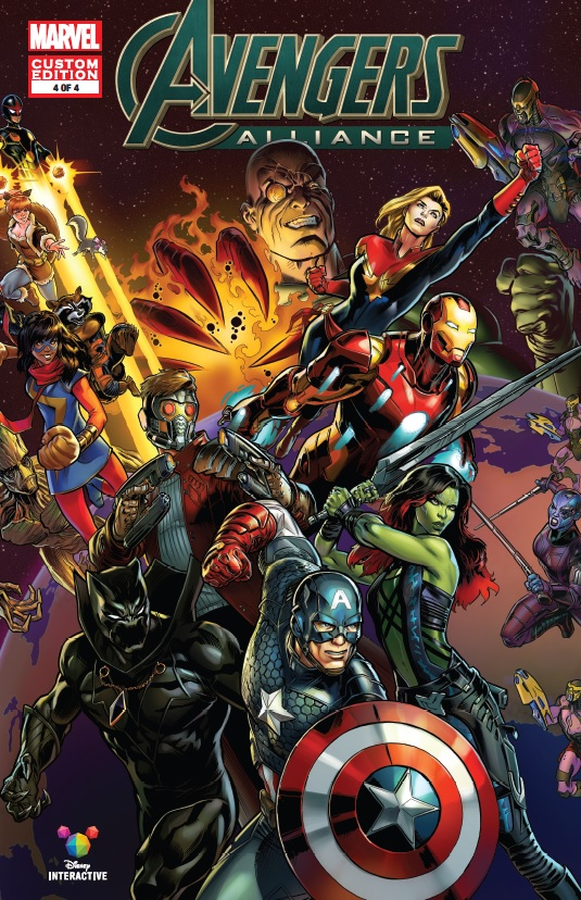 MARVEL AVENGERS ALLIANCE (2016) #4