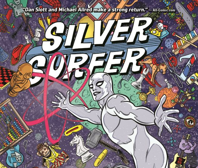 cover from Silver Surfer (2014) Vol. 4