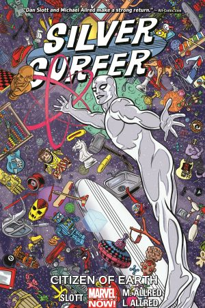 Silver Surfer Vol. 4: Citizen Of Earth (Trade Paperback)